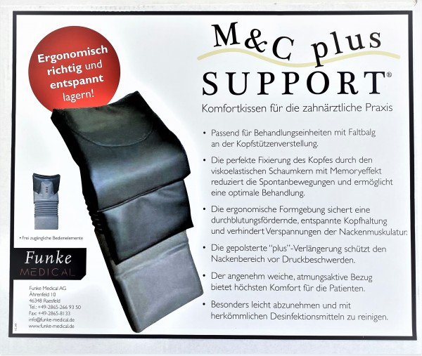Funke M & C Plus Support Kopfstütze anthrazit 6075