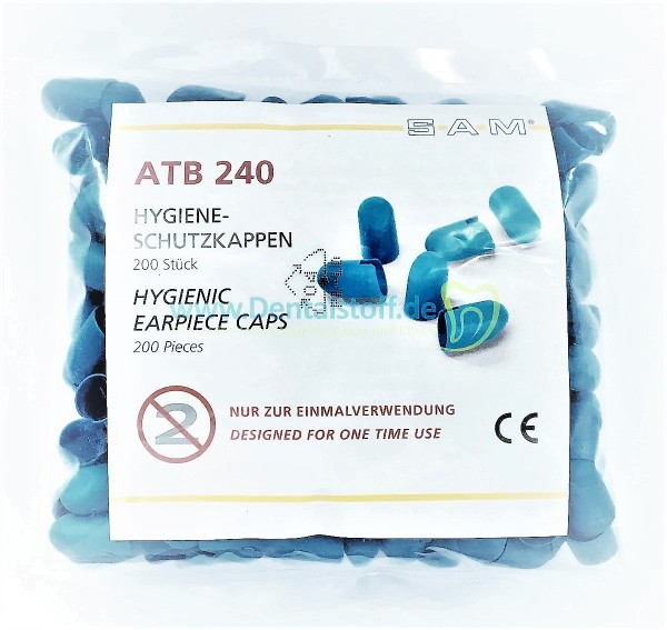 Hygieneschutzkappen ATB 240 für SAM Gesichtsbögen - 200 Stück