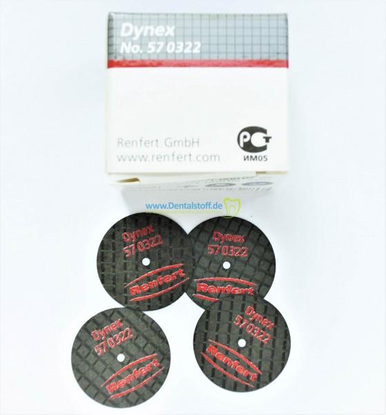 Dynex Trennscheibe 0,3x22mm unmontiert glasfaserverstärkt - 20 Stück