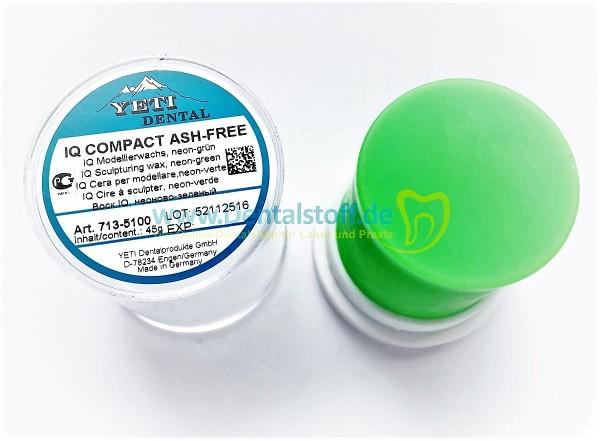 IQ Compact Ash Free Modellierwachs - 45g Zylinder