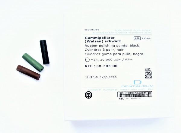 Gummipolierer unmontiert Walze C - 100 Stück
