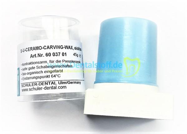 SU Ceramo Carving Wachs eisblau - 45g