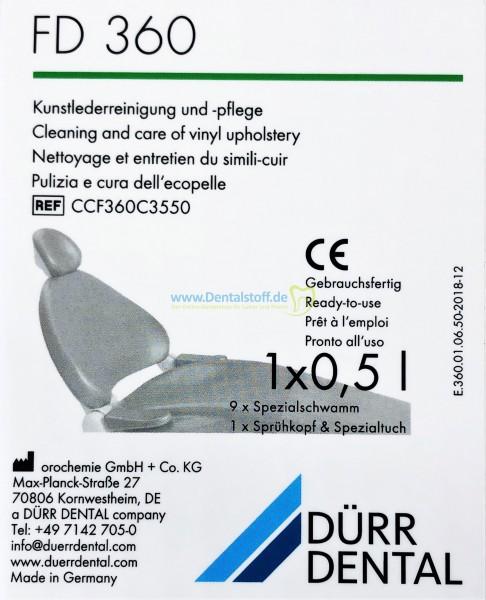 FD 360 Kunstlederreinigungsmittel - Set