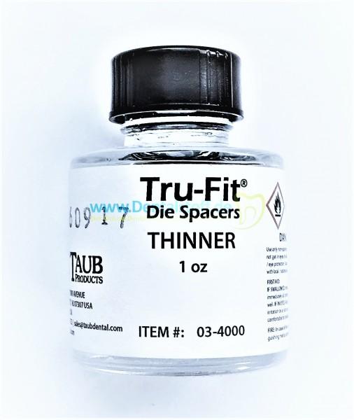Tru Fit Thinner Stumpflackverdünner - 30ml