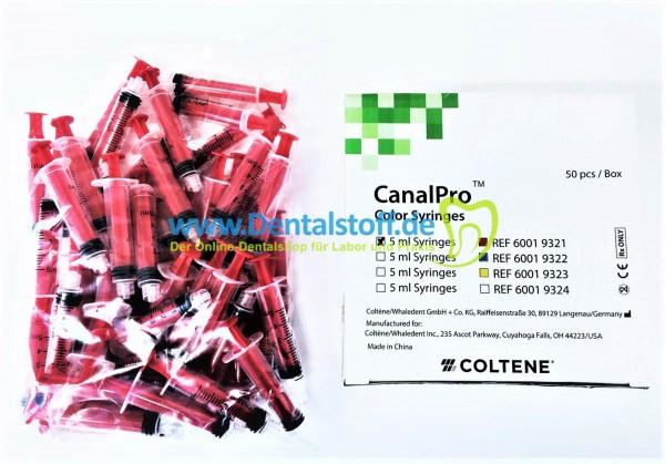 CanalPro Color Spritzen 10ml - 50 Stück - verschiedene Varianten