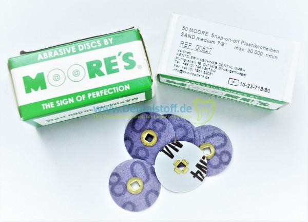 Mooreplastic Disc unmontiert - 50 Stück