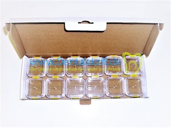 Membran Box klar (Transportbox / Aufbewahrungsbox) mit weicher Innenmembran und Verschluss
