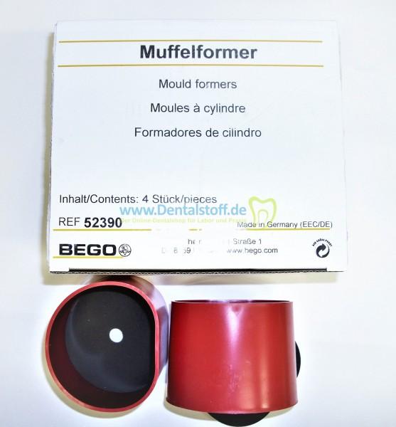 Muffelformer klein mit Bodenplatte 52390 - 4 Stück