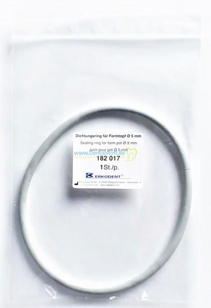 Erkoform D2 Dichtungsring für Formtopf Ø 5mm 182017