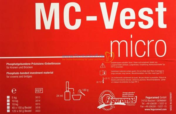 MC Vest Micro Einbettmasse Pulver / Flüssigkeit - verschiedene Varianten
