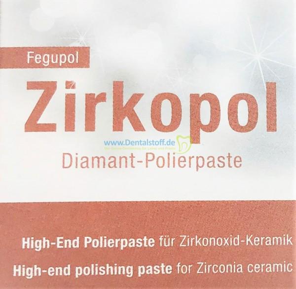 Fegupol 8075 Zirkopol Diamant Polierpaste - 30g