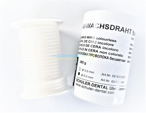 SU Wachsdraht rund farblos extra weich - 250g