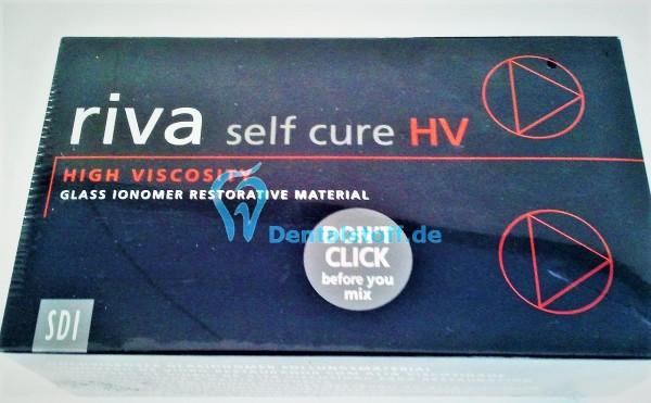 Riva Self Cure Pulver/Flüssigkeit Set
