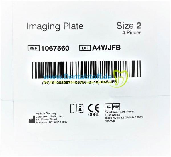 Kodak CS 7200 Speicherfolien Gr.0 - Gr.2