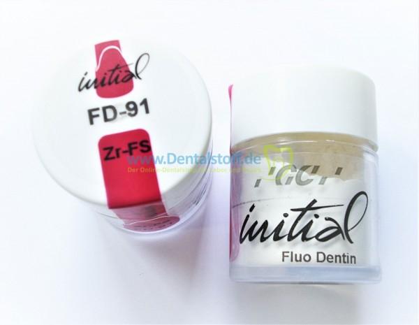 Initial Zr-FS Fluo Dentin