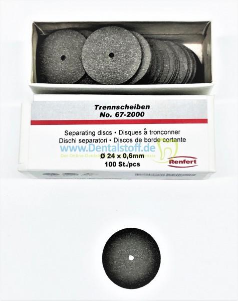Trennscheibe Nr.67 25 x 0,6mm 67-2000 - 100 Stück