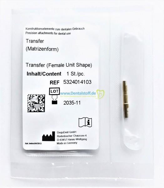 Transfer Werkzeug (Matrizenform) für multi CON Geschiebe 5324014103
