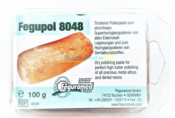 Fegupol Polierpaste 8048 orange - 100g