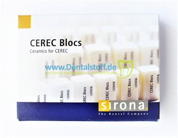 Cerec Blocs C IN - verschiedene Varianten
