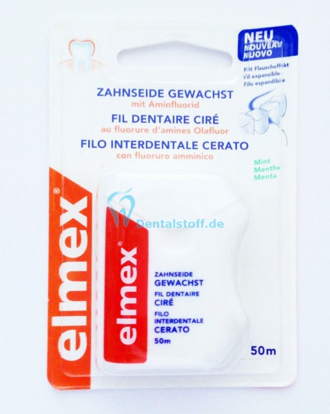 Elmex Zahnseide 50m - verschiedene Varianten