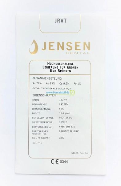 JRVT - hochgoldhaltige Gusslegierung 5165F - 10g