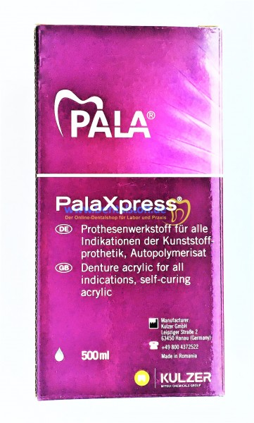 PalaXpress Prothesenkunststoff rosa - Set