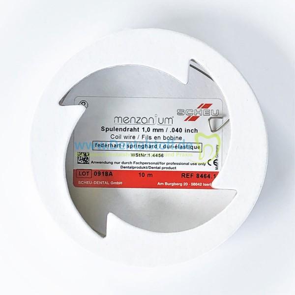 Menzanium Draht federhart Spule