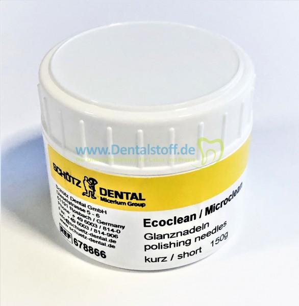 Ecoclean Microclean Glanznadeln kurz/lang