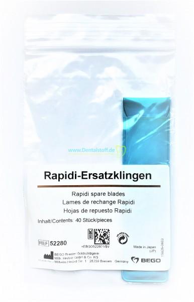 Rapidi Ersatzklingen - 40 Stück
