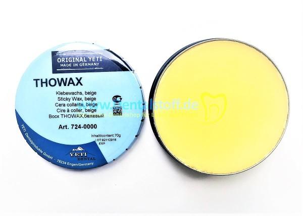 Thowax Klebewachs beige - 70g
