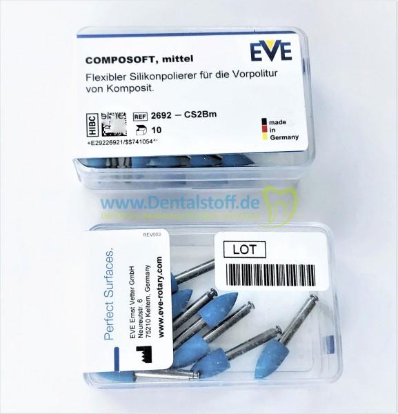 Eve Composoft Kompositpolierer blau mittel CS2BM