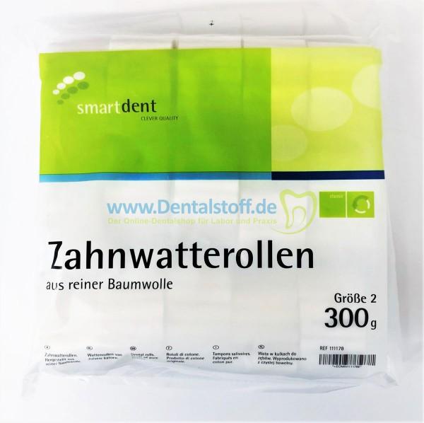 Smartdent Watterollen ohne Zellstoff - 300g
