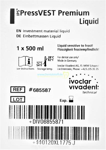 IPS Pressvest Premium Flüssigkeit - 500ml 685587 / 1000ml 685588
