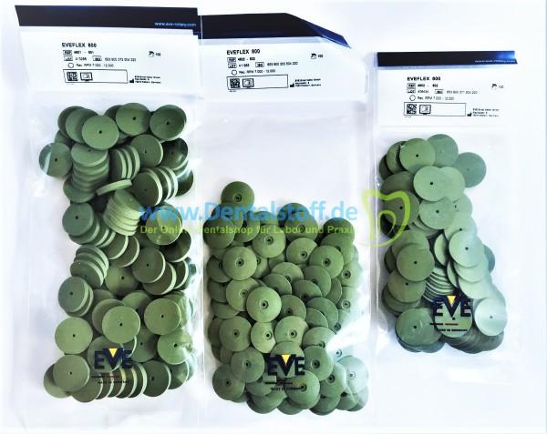 Eveflex 800 Technik Polierer grün, fein, weich, unmontiert