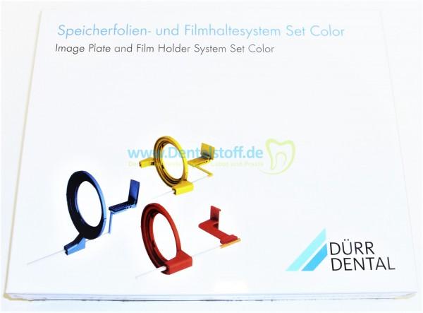 Speicherfolien- und Filmhaltersystem Color Set 2130-1000-15