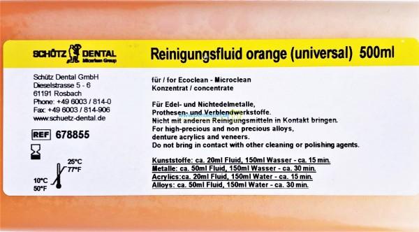 Microclean Reinigungsfluid orange universal 678855 - 500ml