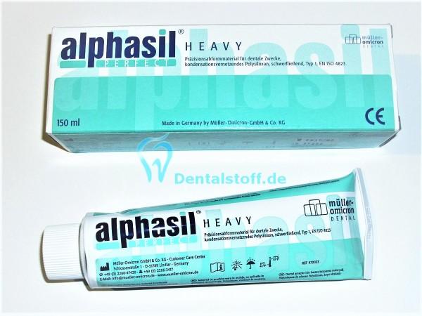 Alphasil Perfect heavy Härterpaste türkis 150ml