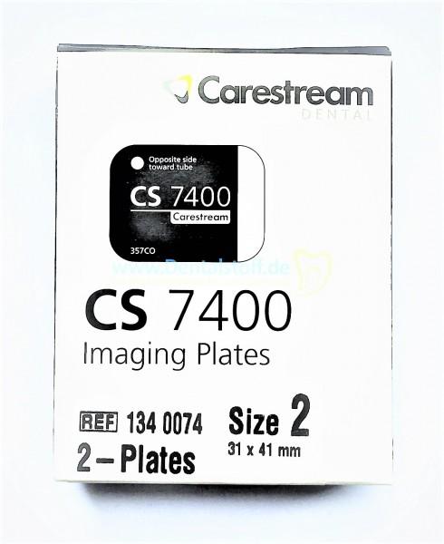 Kodak CS 7400 Speicherfolien - 2 Stück