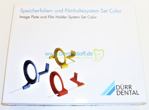 Speicherfolien- und Filmhaltersystem Color Set