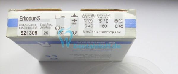 Erkodur S klar 0,8x120mm - 20 Stück