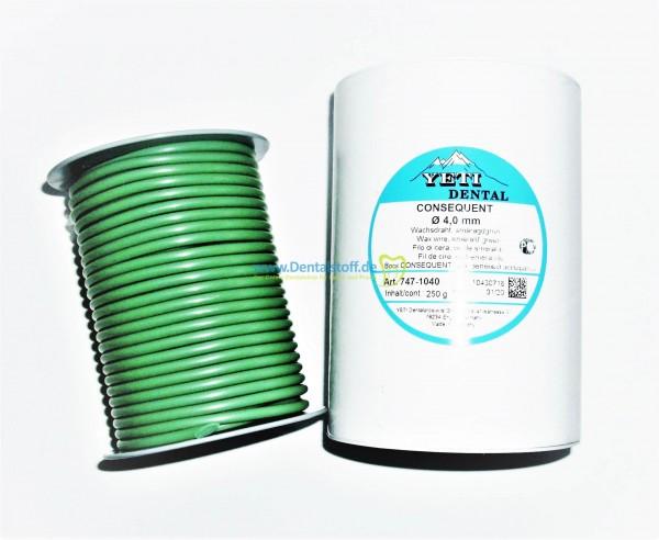 Consequent Wachsdraht weich smaragdgrün - 250g