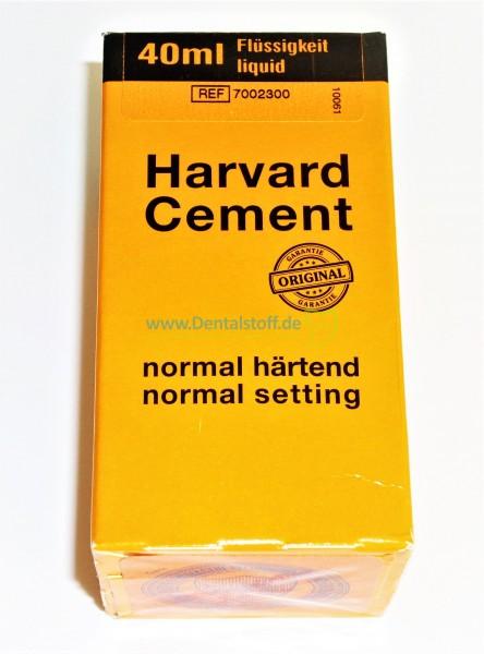 Harvard Cement Flüssigkeit