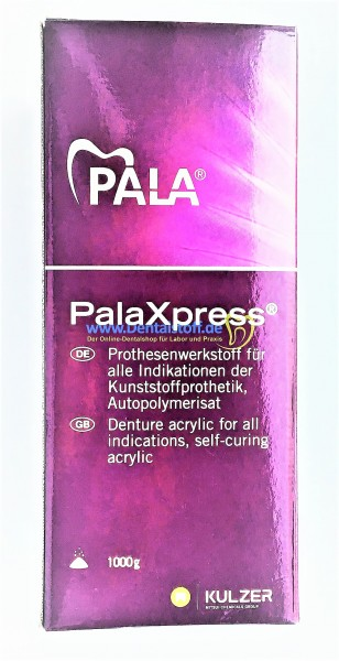 PalaXpress Polymer Pulver - verschiedene Varianten