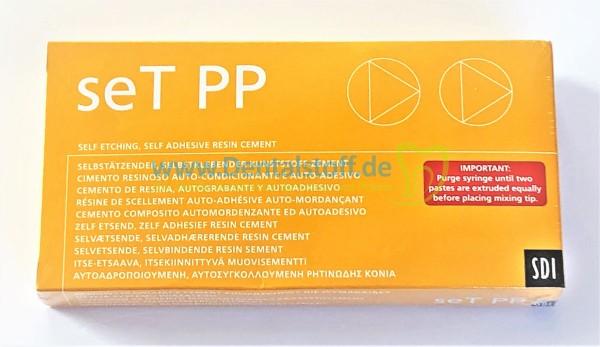 SET PP Kunststoffzement Spritze