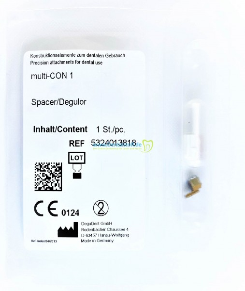 multi CON® 1, Spacer/Degulor® Geschiebe