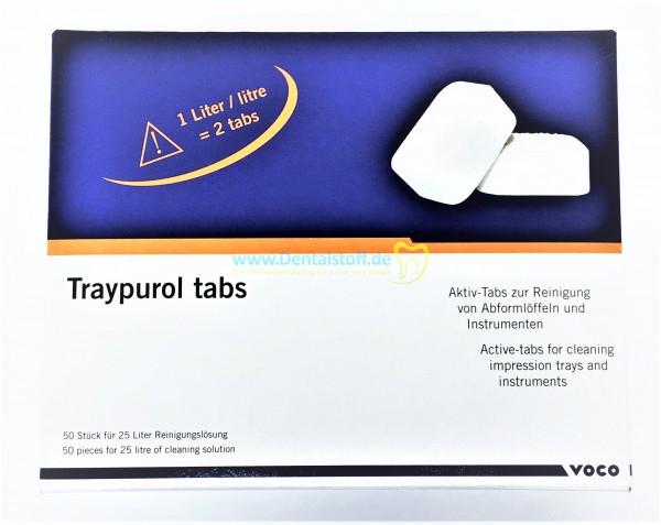 Traypurol Reinigungstabs - 50 Stück