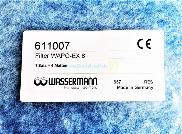 Wapo Ex 8 Ersatzfilter 611007 - 4 Stück (für Wapo Ex Ausbrühgerät)