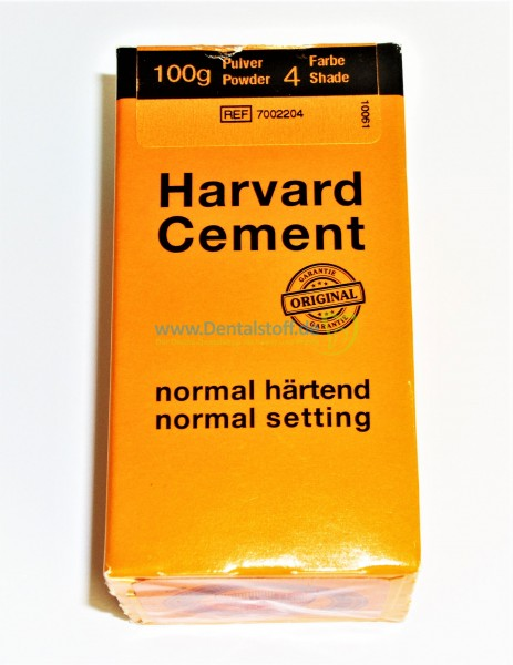 Harvard Cement Pulver
