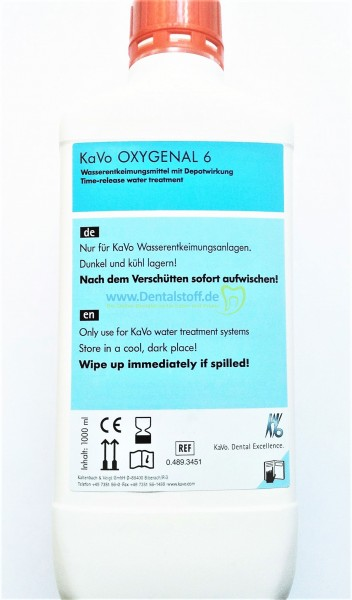 Oxygenal 6 - 0.489.3451 - 1000ml
