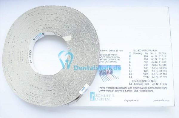 SU Korundpapier 50m Rolle - verschiedene Varianten